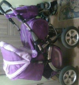 Продаю детскую коляску б/у зима-лето