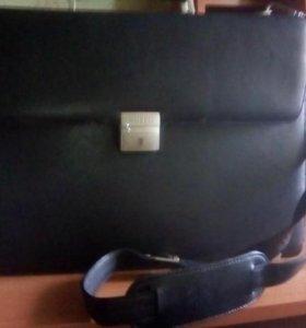 Кожаный портфель RUFFO