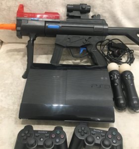 Playstation 3 500Gb + GTA5 и т.д.