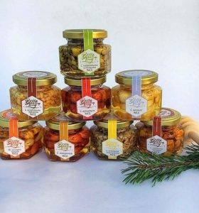 Орешки в акациевом меду