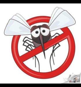 Обработка участков от комаров