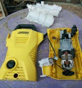 Двигатель и редуктор от Karcher 2.110 (оригинал)