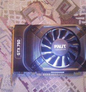 """Видеокарта Palit """"GeForce GTX 750 StormX"""" 2gb ddr5"""