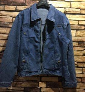 Новая джинсовая куртка 48 р
