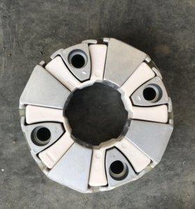 Мягкое соединение двигателя (ромашка) на volvo 240