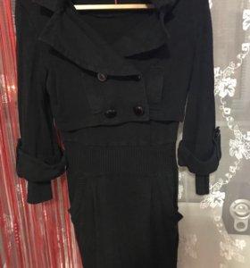 Платье 2-ка с жакетом