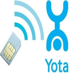 Безлимитный мобильный интернет YOTA 240 р/мес