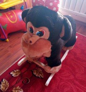 Качалка обезьянка