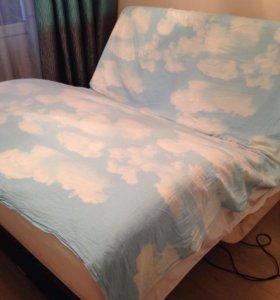 Кровать-трансформер ergomotion с матрасом