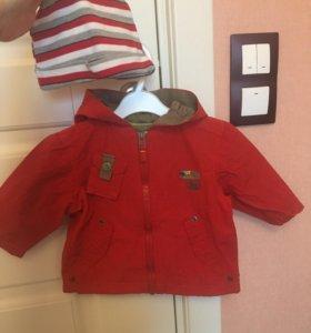 куртка krickets и шапка в подарок
