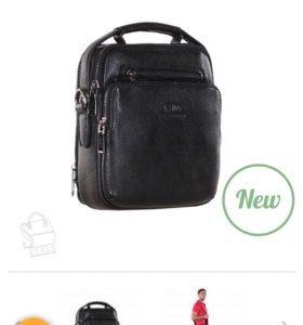 Новая мужская сумка ( нат. кожа)