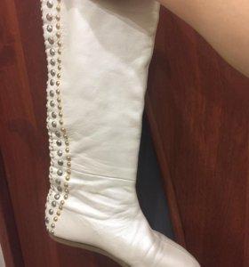 сапоги белые Graciana
