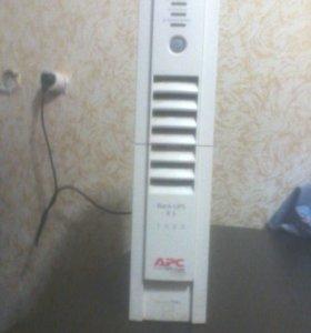 ИБП APC 1000 б\у рабочий в хорошем состоянии.