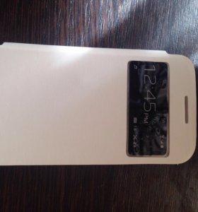 Чехол и стекло на Samsung Galaxy S4 mini