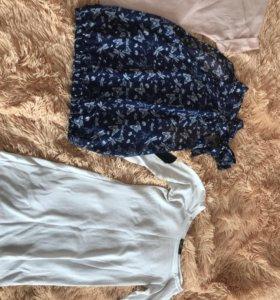 Блузы+кофта