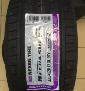 Шины новые Nexen (Корея) 235/45/r17