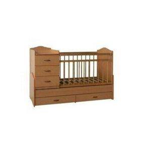 Детская кроватка (трансформер)