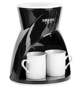 Кофеварка 2 кружки
