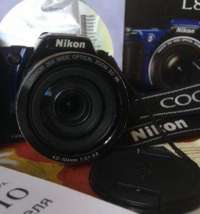 Цифровой фотоаппарат NIKON COOLPIX L810 BLUE