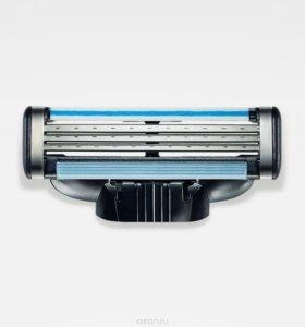 Кассеты, лезвия для бритья Gillette Mach 3