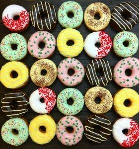 Действующий бизнес - производство пончиков