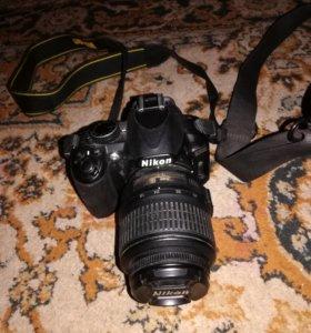 Зеркальный фотоаппарат d3100