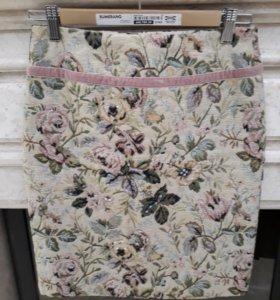 Юбка с цветами.