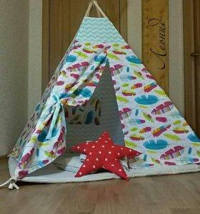 Вигвам детский домик палатка шалаш