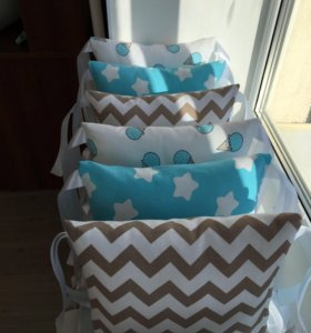 Пошив детских бортиков-подушек, простыней.