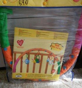 Дуга-подвеска на кроватку для игрушек