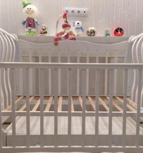 Детская кроватка Ландыш БИ