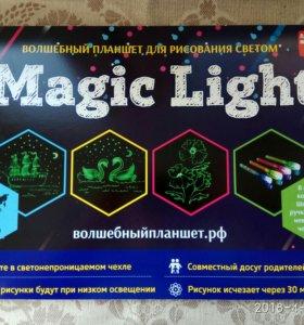Рисуй светом волшебный планшет Magic light