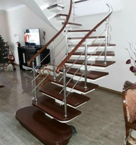 Бетонные работы,лестницы
