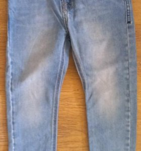 Джинсы брюки Zara H&M на 4-6 лет б/у в идеале