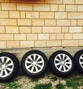 Оригинальные диски с Mercedes E-класса, R16