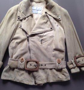 Замшевая куртка-косуха Frankie Morello оригинал
