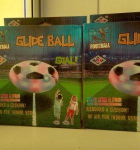 Глейдболл.футбольный мяч на воздушной подушке