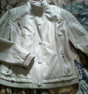 Куртка кожанка 50 размер