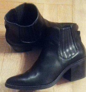 Ботильоны ботинки полусапоги Bershka