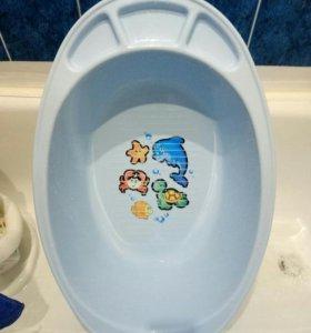 Детская ванночка и стульчик