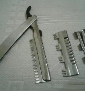 Филеровочная бритва для парикмахера