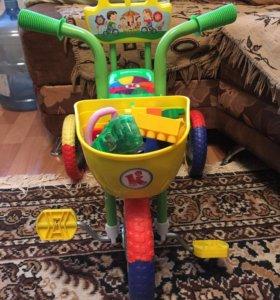 Детский велосипед ( ездили только по квартире)