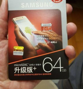 Samsung EVO MicroSD card 64Gb