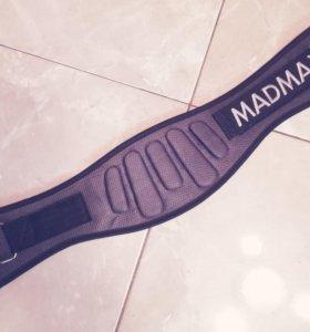 Пояс атлетический MFB 666 eXtreme серый от Mad Max