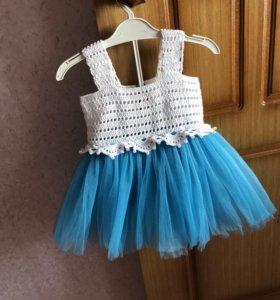 Платье , ручная работа!