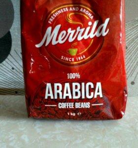 Кофе Арабика в зёрнах.