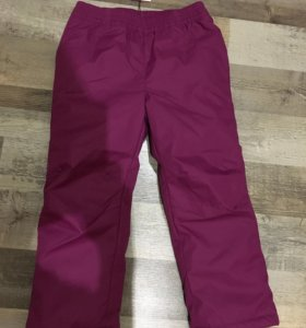Новые утеплённые штаны футурино 104см