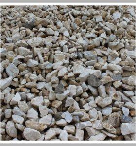 Щебень, скала, песок, ЩПС, вскрыша
