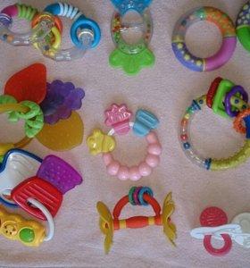 Прорезыватели и игрушки