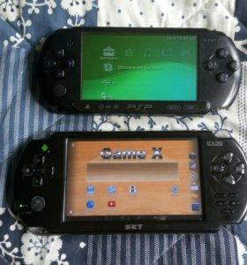 PSP и EXEQ.